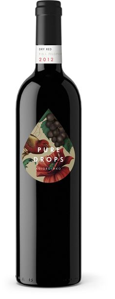 I like the images contained in the droplet. It provides a great contrast against the black bottle.