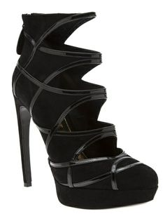 ALEXANDER MCQUEEN Cut Out Pumps
