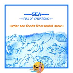 Are you a #seafood lover? Visit www.kadalunavu.com to buy fresh Sea food varities that can be delivered to your doorstep quickly! Hurry, order now!  #Kadalunavu #Chennai #ChennaiFood