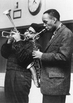 Dizzy Gilllespie and Sonny Stitt