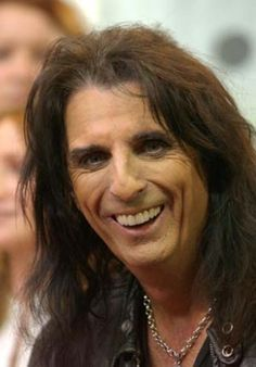 Alice Cooper -- great smile!