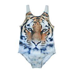 Popupshop - Tiger swimsuit