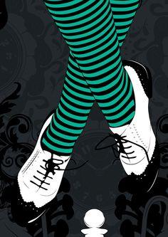 Alice in Wonderland by CranioDsgn , via Behance