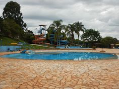 Balneário de Águas Termais Chapecó, algumas atrações desse parque aquático a 12 Km de Chapecó.