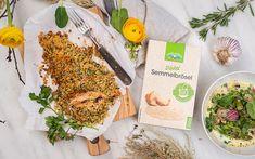 Lachsforelle in Knusperkruste aus LAND-LEBEN Semmelbrösel Browning, Easy Meals, Food And Drinks, Life, Recipies