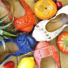 Colorful Flats! #shoestock #previewverao2015 #verao2015 #tendencia #colorful - Ref 16.05.2387 - 16.05.2404