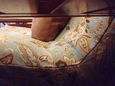 DIY easy off futon slip cover