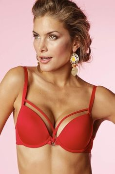 Oh yes~~ RED :) Push-up bra has the perfect combination of sexy styling, incredible lift.