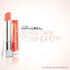 Maybelline Dare to Whisper Sweepstakes