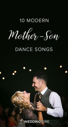 10 Modern Mother-Son Dance Songs - While your first dance song might be top of mind parent dance songs are just as important. From Boyz II Men to Sheryl Crow see 10 awesome picks for your mother-son dance song on WeddingWire! Mother Groom Dance Songs, Mother Son Wedding Songs, Mother Son Dance Songs, Mom Song, Wedding Dance Songs, Wedding Playlist, Mother Of Groom Dresses, Father Daughter Dance, Wedding Music