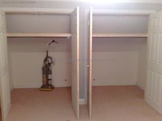 Built in wardrobes in eaves