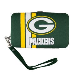 Green Bay Packers NFL Shell Wristlet
