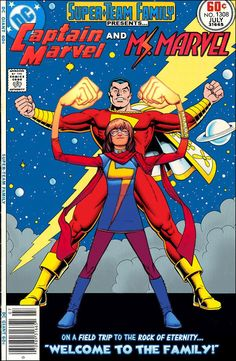 """Super-Team Family: The Lost Issues!: Captain Marvel and Ms. Marvel in: """"Welcome To The Family!"""""""