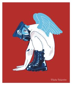 Ready to fly -  Vilela Valentin © All rights reserved  Read our interview http://thepinksnout.com/2016/10/03/interview-vilela-valentin/