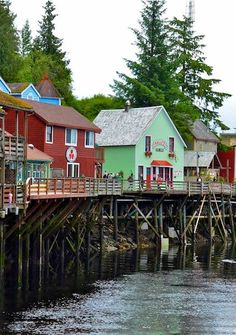 Alaska - Ketchikan creek street