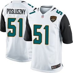 ... Game Paul Posluszny Jacksonville Jaguars Jersey - Mens Nike NFL 51 White  Road ... 6695619b1