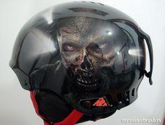 Airbrush by Igor Amidžić Snowboard Helmet http://mysticairbrush.rs https://www.facebook.com/mystic.airbrush?fref=tl_fr_box