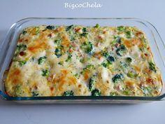 Pastel de brócoli y pavo   Cocina