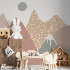 Ava Mountain Wallpaper