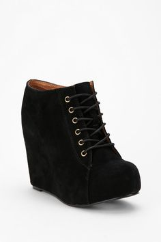 Jeffrey Campbell 99 Tie Wedge  #UrbanOutfitters