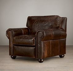 Lancaster Leather Recliner  Consider Cognac, Chestnut or Distressed Whiskey leather