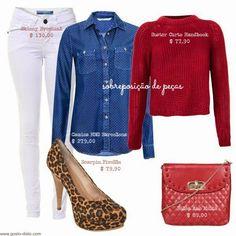 Como usar calça branca no inverno - Uma calça branca = 4 looks