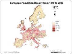 In the 20th century, people moved to western Spain and East Germany. In the 21st century, they're mostly moving out.