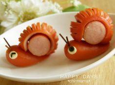 mini hot dog - sanil shaped