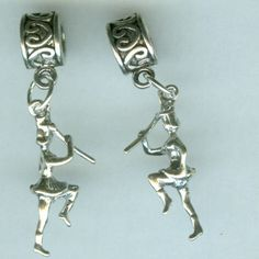 Sterling+Silver+MAJORETTE+MARCHER+Bead+for+by+ShymaliLlamas,+$17.50