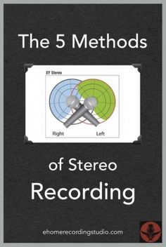 The 5 Methods of Stereo Recording http://ehomerecordingstudio.com/stereo-microphone-techniques/