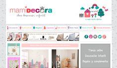 Mamidecora, una web pensada para los padres y dedicada a los niños