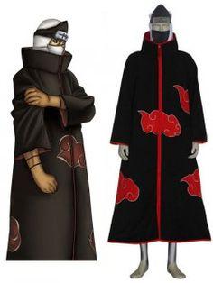 Kakuzu Robe Cap Headband Ring Naruto Akatsuki Cosplay Costume X/'mas Gift Unisex