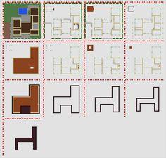 Minecraft Modern Mansion Blueprints