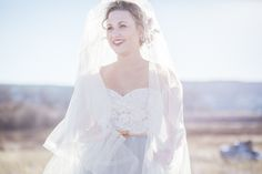 "Elizabeth Dye ""Halo"" gown"