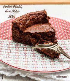 Fondant au chocolat sans gluten et petit concours