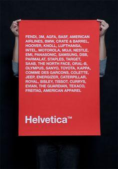 Hella Helvetica.