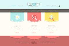 Izumi-homepage
