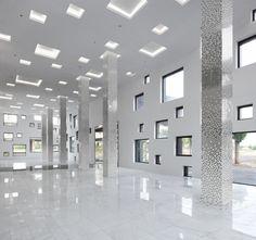 SAKO Architects — Great Cube Tube in Jinhua, China