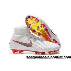 on sale 43f14 ebff7 Mejores Botas De Futbol Nike Magista Obra II FG Azul Royal Cromo ...