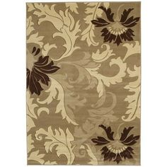 "United Weavers of America Contours Orleans Beige Rug, 2'7"" x 7'4"" - $101.50"