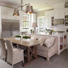 kitchen+island+with+table+attached | Kitchen Table Attached To Island Design Ideas, Pictures, Remodel, and ...
