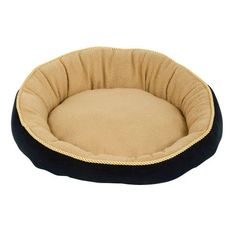 Aspen Pet 18' Round Bed With Eliptical Bolster Assorted Colors ** Be sure to check out this awesome product.