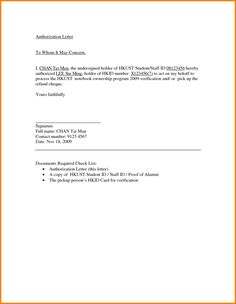 letter sample for document collectionmple authorization format authorize person best template collection
