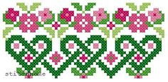 pretty cross stitch motif