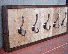 vestibule coat hooks #smallwoodcrafts