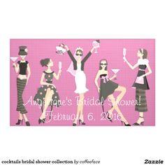 cocktails bridal shower collection banner