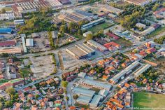 Industrial zone in Smederevo.