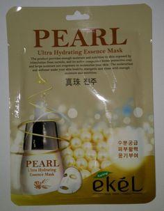 Ekel Pearl Ultra Hydrating Essence Mask K-Beauty 1pcs #EKEL