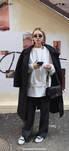 Cool Street Fashion, Look Fashion, Daily Fashion, Fashion Outfits, Womens Fashion, Winter Outfits, Casual Outfits, Cute Outfits, Mode Dope