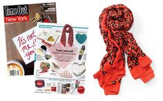 The Luxembourg Scarf – Wild Hearts by Stella & Dot featured in Time Out New York (February 2014).